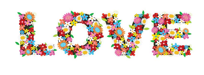 Aşk Çiçekleri Facebook Kapak-Fotografı