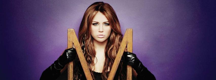 Miley Cyrus Facebook Kapak Fotografı