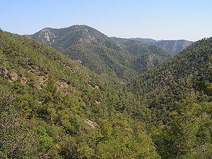 Troodos Dağları