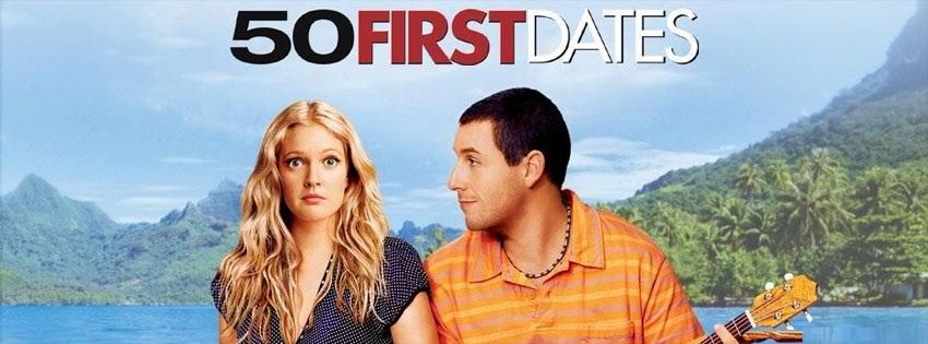 50 first dates - 50 İlk Öpücük Kapak Fotoğrafı