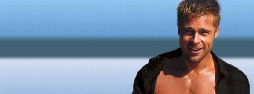 Brad Pitt facebook kapak resmi cover