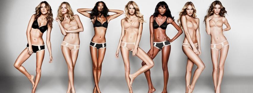 Victorias Secret Modelleri facebook kapak resmi