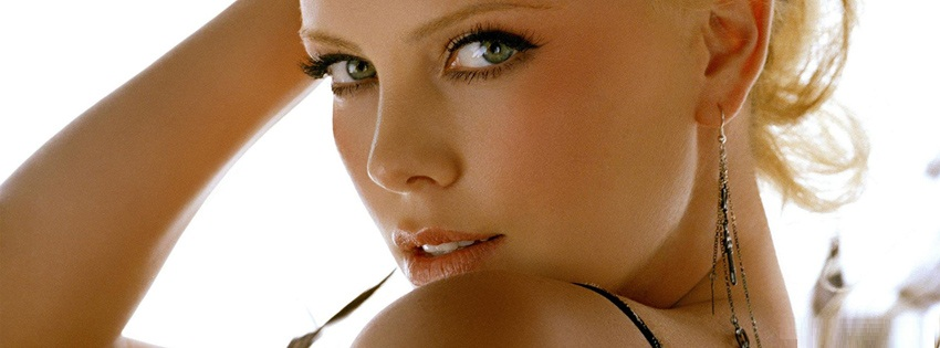 charlize theron facebook cover