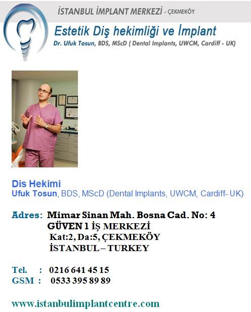 çekmeköy diş doktoru