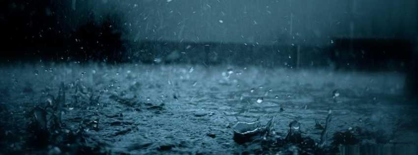 yağmur damlacıkları kapak