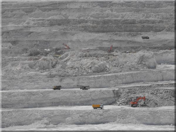 açık maden işletmesi