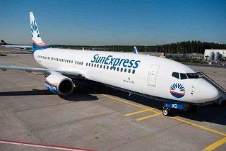 sun express uçak