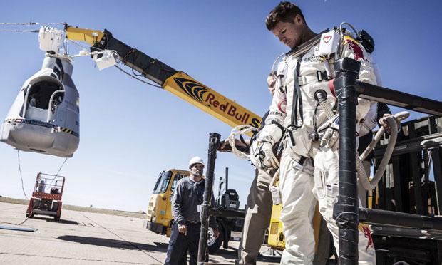 Skydiver Felix Baumgartner