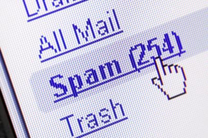 Spam in mailbox
