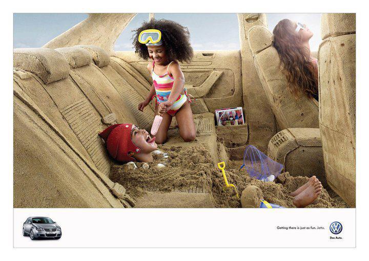 Volkswagen Guerrilla marketing