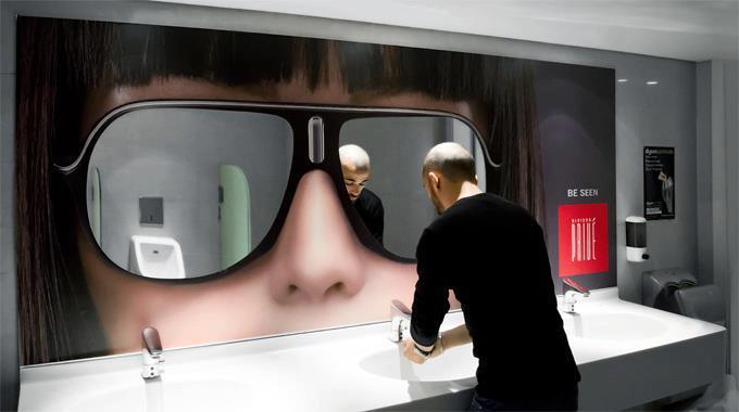 gözlük reklamı