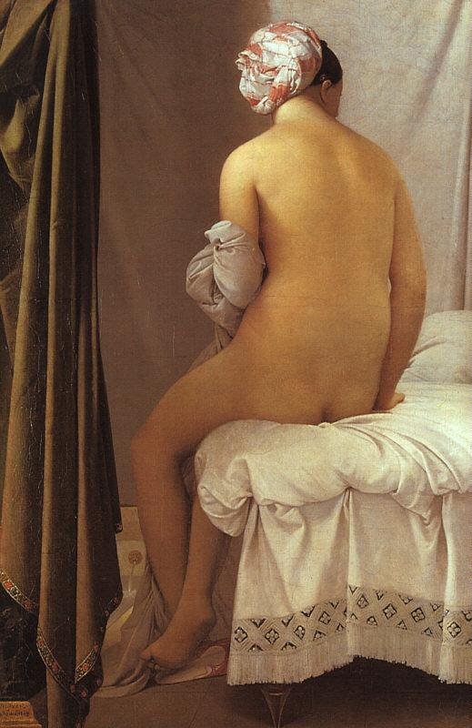 Ingres Valpinçonlu Yıkanan Kadın